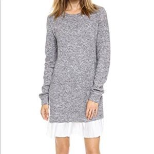 Shopbop gray sweater dress